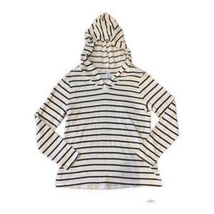 *3/$20* GAP BODY striped pullover hoodie